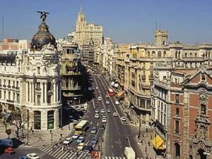 Gran Vía esquina Alcalá, edificio Metropoli