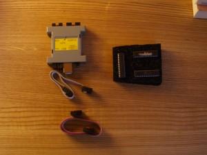 Programador de AVR, cables y micros AVR