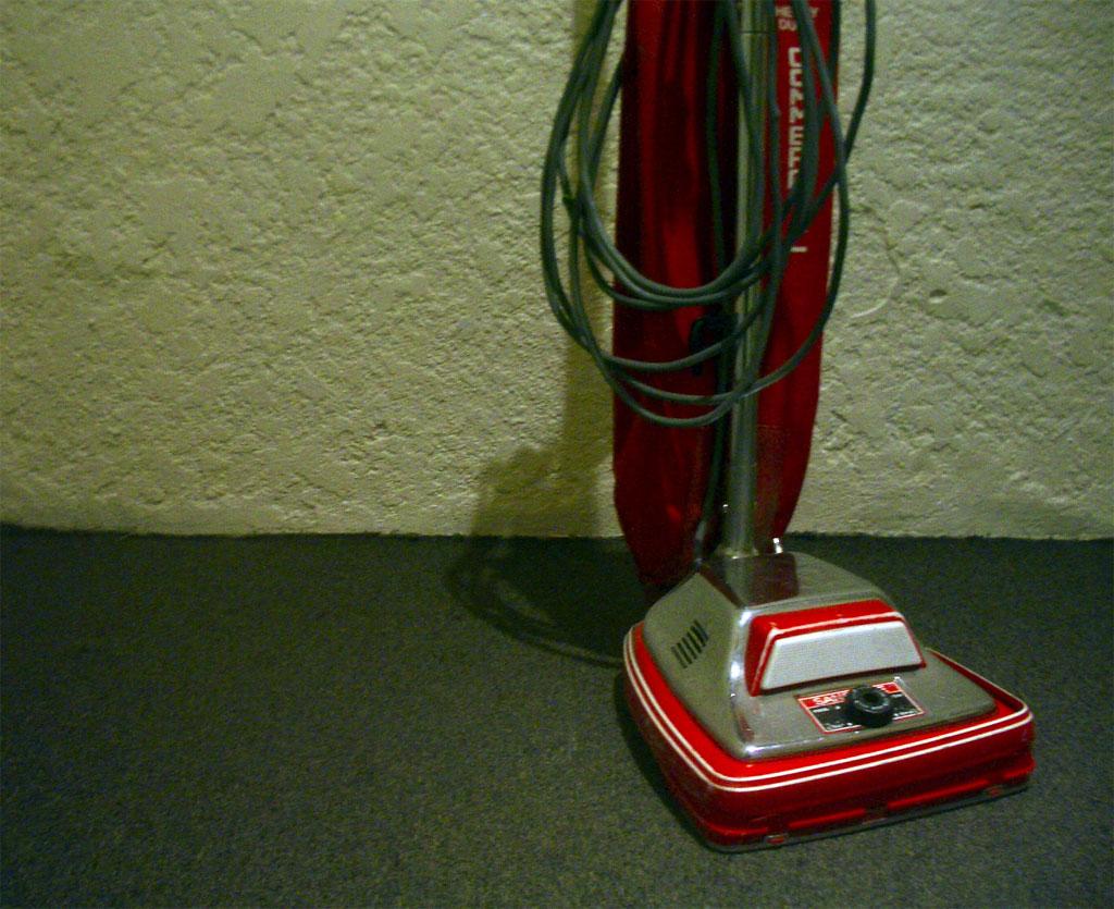 Aspiradora Roja